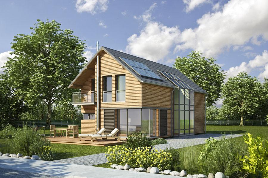 Constructeur maisons conome guy thomas concept for Constructeur maison positive