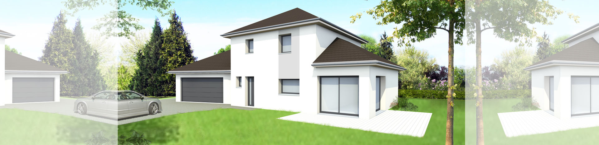 Modèle de maison Guy Thomas Concept